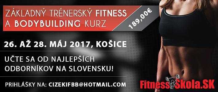 Kurz trénera fitness a kulturistiky