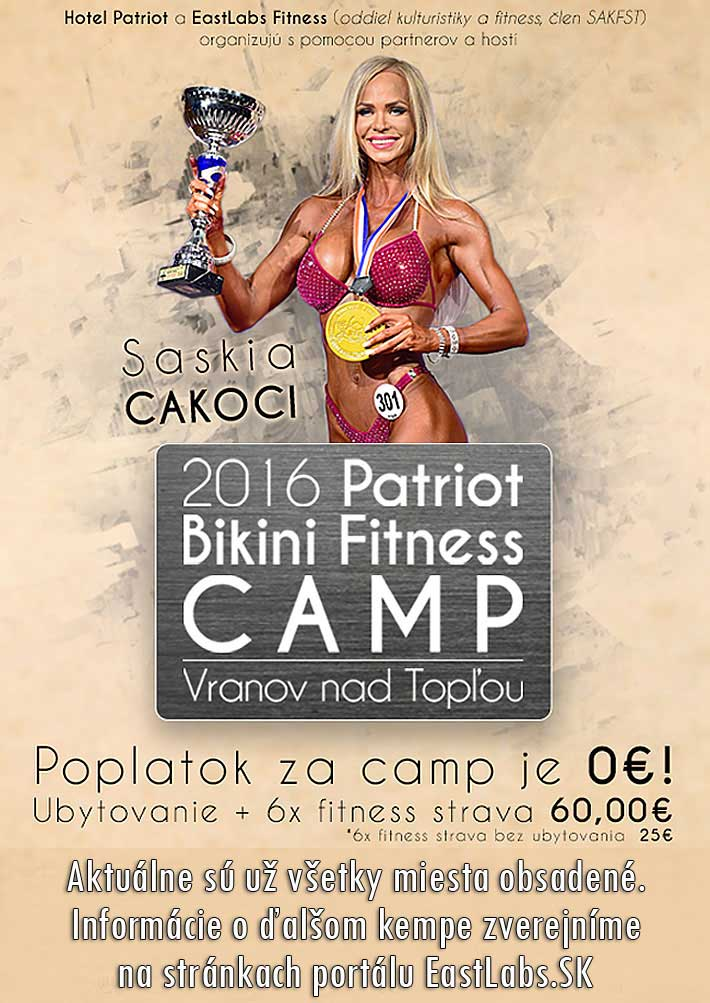 2016 Patriot Bikini Fitness Camp