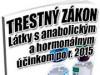 Boj proti distribúcii anabolických steroidov sa sprísňuje PART 4