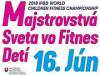2018 Slovenský šampionát vo fitness detí rozhodoval aj o reprezentácii
