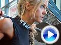 VIDEOKLIP - na tréningu so Sarou BACK, nohy a zadok