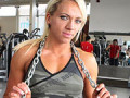 Karolína Botková - bodyfitnesska zo Slovenska, ktorá súťaží v Anglicku