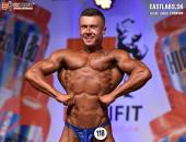 Extrifitslovakia Cup 2018, Kulturistika do 80kg