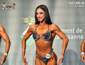 2018 European - Saturday, Bodyfitness over 168cm