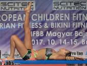 2017 European Children - girls 14-15y