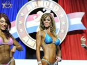 2014 AC USA Bikini fitness prejudging