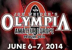 Olympia Amateur Europe 2014, Prague