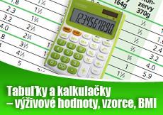 Tabuľky a kalkulačky