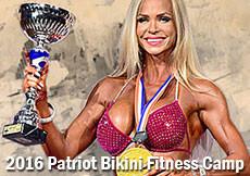 2016 Patriot Bikini Fitness Camp - Leto