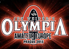 2015 Olympia Amateur Europe - Prague