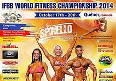 2014 World Fitness Championships, Montreal, Canada