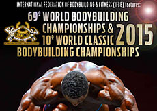 2015 World Bodybuilding Championships, Spain