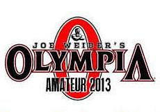 2013 Amateur Mr Olympia