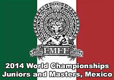 2014 World Championships, Juniors and Masters