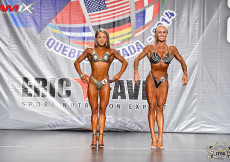 2014 Montreal - Overall Women Fitness