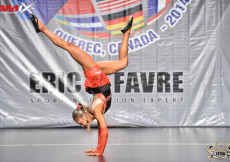 2014 Montreal - Fitness Womens Routines