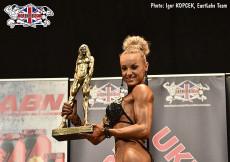 2017 UKBFF British - Bodyfitness 163cm plus