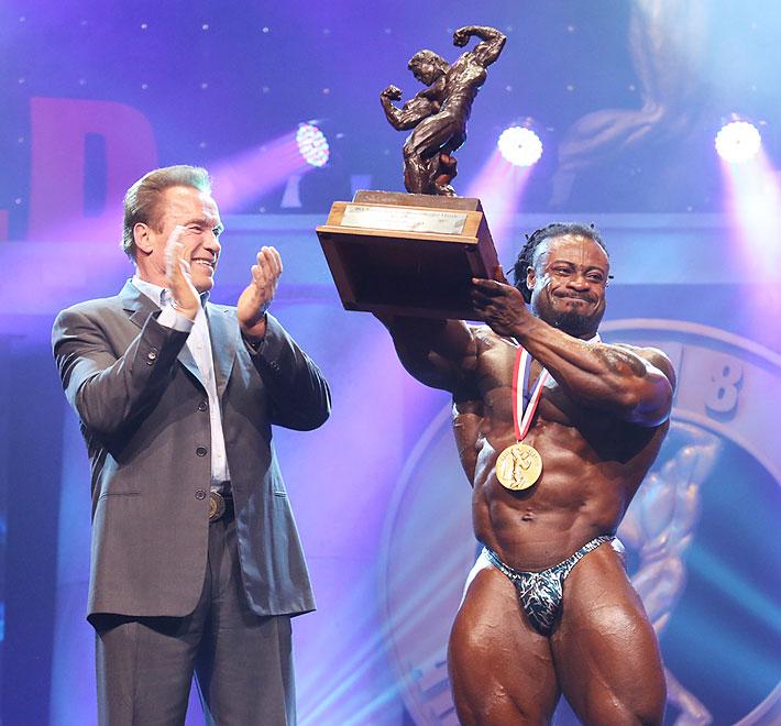 """William """"Завоеватель"""" Bonac выиграл Юбилейный XXX-тый Arnold Classic"""