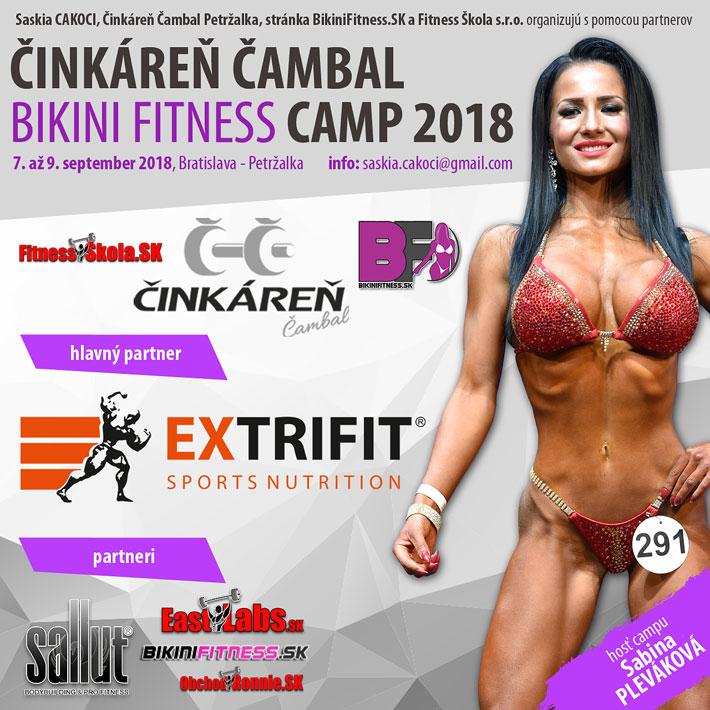 Bikini Fitness Camp Bratislava 2018