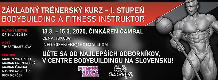 Kurz trenerov bodybuilding, kulturistika, fitness