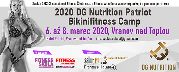DG Nutrition BikiniFitness Camp