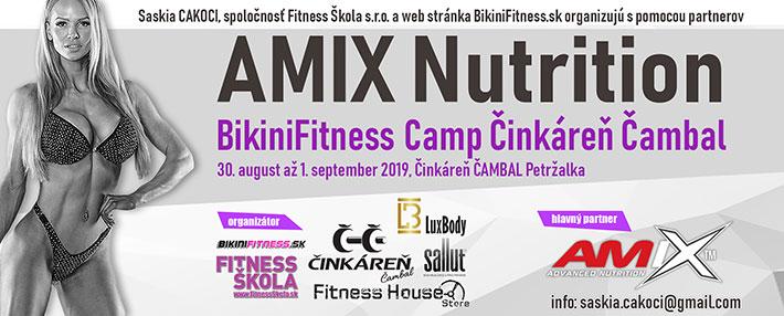 AMIX BikiniFitness Camp Cinkaren Cambal