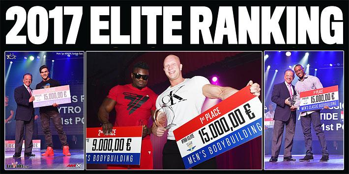 2017 IFBB Elite Ranking