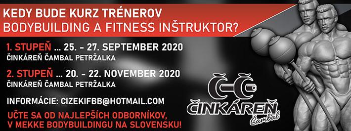 Kurz trénerov Bodybuilding a Fitness Inštruktor