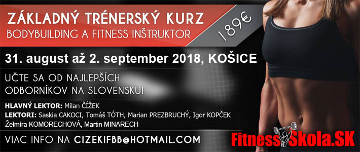 trenersky kurz kulturistika a fitness