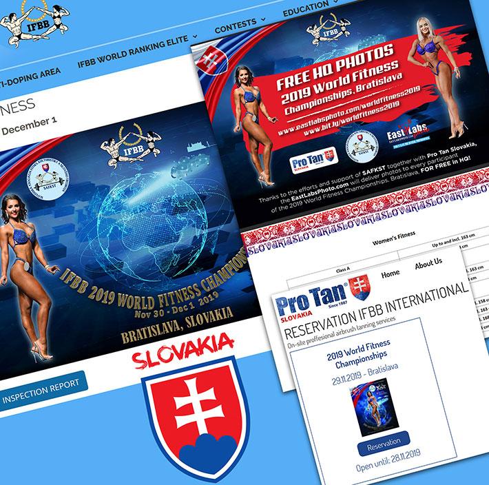 2019 IFBB Majstrovstvá sveta vo fitness