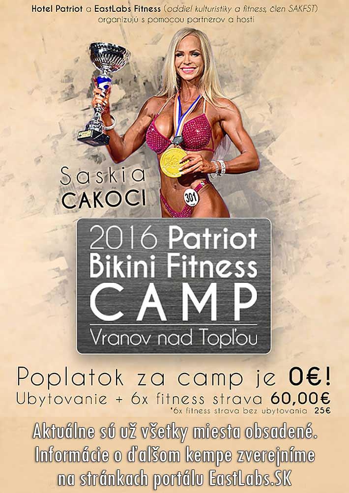 2016 Patriot Bikini Fitness Camp