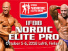 2018 IFBB Nordic Elite PRO Lahti  aj s účasťou Slovenska