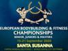 Propozície - 2020 IFBB Majstrovstvá Európy v kulturistike a fitness