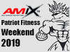 Predpredaj vstupeniek - 2019 AMIX Patriot Fitness Weekend