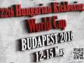 2016 WAKO XXII. Hungarian kickboxing Cup Budapest - 1. časť