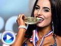 Michaela PAVLEOVÁ - Fitness  Superstar na 2019 IFBB/EBFF Európskom šampionáte