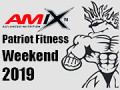 Ocenenie Tréner šampióna na 2019 AMIX Patriot Fitness Weekend-e