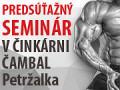 FitnessHouse.SK partnerom seminárov v Činkárni Čambal Petržalka