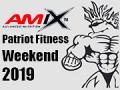 Harmonogram súťaže - 2019 AMIX Patriot Fitness Weekend, sobota a nedeľa