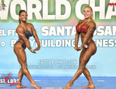 2020 World, Saturday - Women's Physique Overall