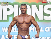 2020 World, Friday - Master Classic Bodybuilding 40-49y