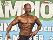 2020 World, Saturday - Master Men's Physique 50y plus