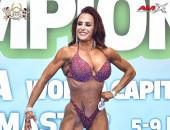 2020 World, Sunday - Master Bikini-Fitness 45y