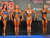 2018 European - Saturday, Bodyfitness up to 163cm