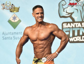2020 World, Saturday - Master Men's Physique 45-49y