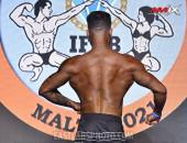 2021 Malta Diamond - Men's Physique 176cm
