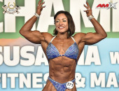 2020 World, Saturday - Women's Physique 163cm