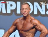 2021 European - Master Men's Physique 50y