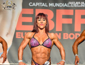 2018 European - Saturday, Master Womens Physique over 35y