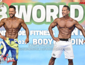 2020 World, Saturday - Master Men's Physique Overall